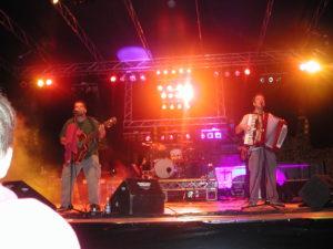 Tupamaros sul palco dal vivo
