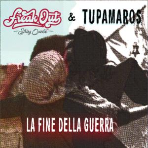 Copertina de Lafine della guerra Freak Out STring Quartet & Tupamaros