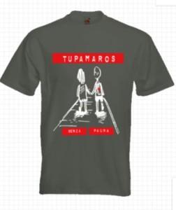 Maglietta Tupamaros Senza Paura